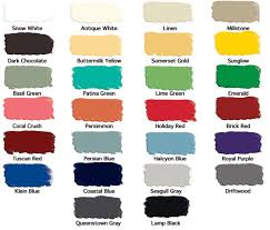 General Finishes Color Chart General Finishes Shop
