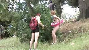 Women peeing outdoors compilation videos