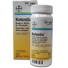 Ketostix Ketone Urine Analysis Test Strips What Have I