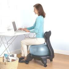 apartment delightful yoga ball desk chair 18 vivora luno self standing sitting for home office yoga