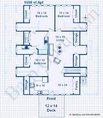 Download Barn Floor Plans With Living Quarters  AdhomeBarn Plans With Living Quarters Floor Plans