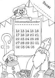 Sinterklaas Schoenzetkalender Mama Maai