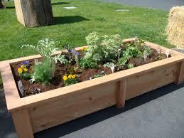 Small Picture garden ideas Beautiful Raised Garden Bed Design Design Bucket