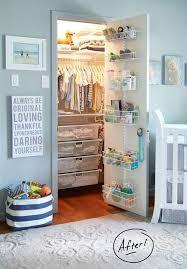 toddler closet organizer fresh nursery closet organization easy diy baby closet