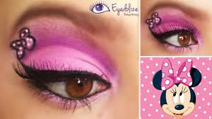 minnie mouse eyeshadow by eolize makeup
