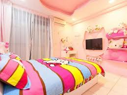 Hello kitty furniture for teenagers Accessory Hello Kitty Rooms Teenagers Pink White Bedroom Tierra Este Hello Kitty Rooms Teenagers Pink White Bedroom Tierra Este 812