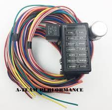 swperformanceparts new 14 circuit basic wire kit small wiring harness rat street rod sand car truck