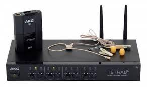 <b>Радиосистема</b> с головным микрофоном <b>AKG DMS</b> Tetrad ...