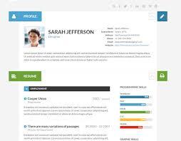 15 Best Wordpress Themes For Creating Resume Cv Profile