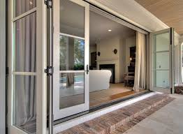 brilliant 3 panel patio door home design 3 panel sliding glass patio doors regarding house design