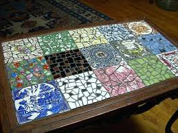 mosaic table top photo of mosaic coffee table glass tables mosaic table top kit mosaic table top