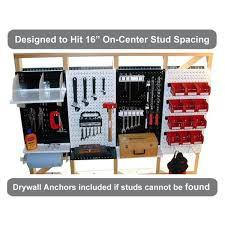 wall control kitchen pegboard 32 in x