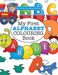 Prime members enjoy free delivery on millions of eligible domestic and. My First Alphabet Colouring Book Crazy Colouring For Kids James Elizabeth 9781785951435 Amazon Com Books