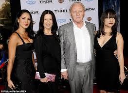 anthony hopkins family. Beautiful Family Anthony Glum To Hopkins Family N