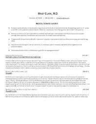 Physician Liaison Cover Letter Sample Adriangatton Com