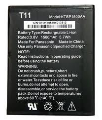 Panasonic T11 1500 mAh Battery by Elite ...