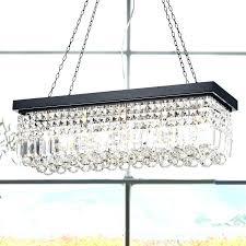 chandeliers rectangle crystal chandelier 5 light large cassiel 40 rectangular drop antique brass rectangle