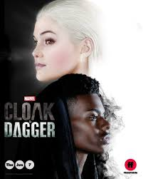 Tandy Bowen and Tyrone Johnson featured on new poster for Marvel's Cloak &  Dagger