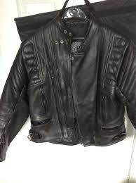 aikido leather motorbike jacket