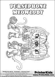 monster high baby coloring pages get coloring pages
