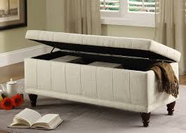 Living Room Benches Living Room Storage Bench Luxurious Tufted Bench Storage For