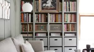 built in ikea billy bookcase a