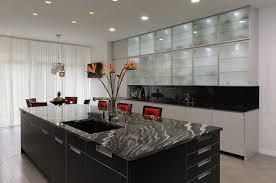Modern Glass Kitchen Cabinets Modern Kitchen Designs With Glass Kitchen Cabinets