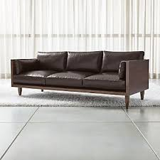 leather sofas and chairs.  And Sherwood Leather 3Seat Exposed Wood Frame Sofa Inside Sofas And Chairs N