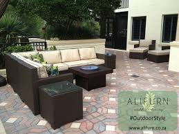 beautiful with outdoor furniture and fire pit with patio table r