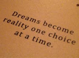 Dreams And Reality Quotes Best Of Dream Wallpaper Dreams Become Reality One Choice At A Time Dont