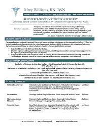 Curriculum Vitae For Nurses Extraordinary Sample Resume Registered Nurse Nurse Resume Entry Level Sample