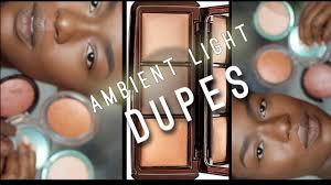 Ambient Lighting Palette Dupe Hourglass Ambient Light Dupes Bronzers