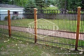 aluminum fences by chicago fence