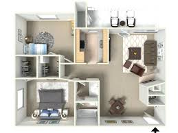 One Bedroom Two Bathroom Apartments Sunrise Ridge 2 Bedroom 1 Bathroom  Apartments For Rent Floor Plan .