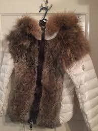 womens moncler very beautiful fur jacket s hot cake mt8609