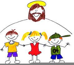 Jesus And Children Clip Art