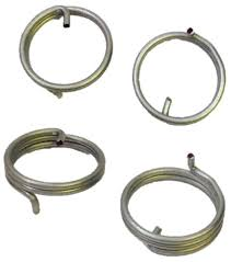 2 coil door handle spring repair set pair of replacement lever round coil spring 101435