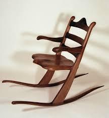 amazing wooden rocking chair