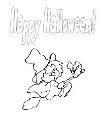 Small Picture Witch Flying Halloween Coloring Pages Free Hallowen Coloring