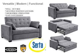Incredible Sofa Beds And Futons Traditional Couch Futon Augustine Grey Sofa  Sleeper The Futon Shop