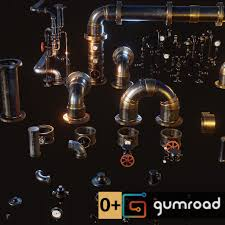 Steampunk Pipes Kit, Davide Tirindelli