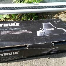 Аэродинамический багажник <b>Thule</b> WingBar+опоры <b>754</b> – купить ...