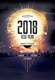 New Year Flyers Template New Year Nye Flyer Templates Psd Design