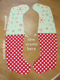 Patterns For Christmas Stockings Awesome Decorating Ideas