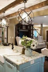 kitchen island pendant lighting fixtures. Love The Lights And Color Of Cabinets. Farmhouse Light FixturesSphere Kitchen Island Pendant Lighting Fixtures T