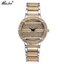 Ladies Designer Bling Watches Miss Fox Fashion Brand Watch Rhinestone Classic Best Womens