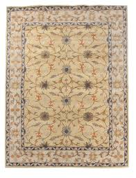 new traditional persian oriental handmade wool 9x12 large area rug carpet yellow blue