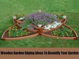 diy garden edging wood border ideas
