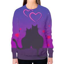 <b>Свитшот женский с</b> полной запечаткой Cat's desire #2596556