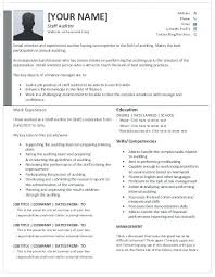 Auditor Resume Interesting Auditor Resume Template Onlineemily